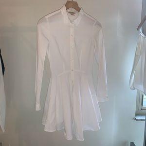 H&M long sleeve peplum dress and blouse
